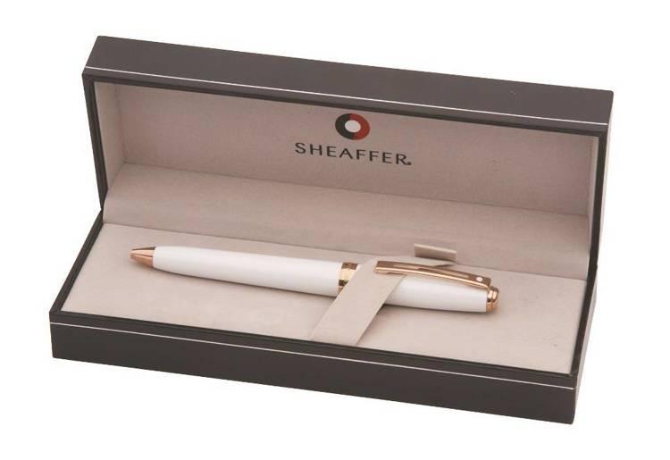 9142 BP Długopis Sheaffer Prelude, białe, wykończenia z różowego złota