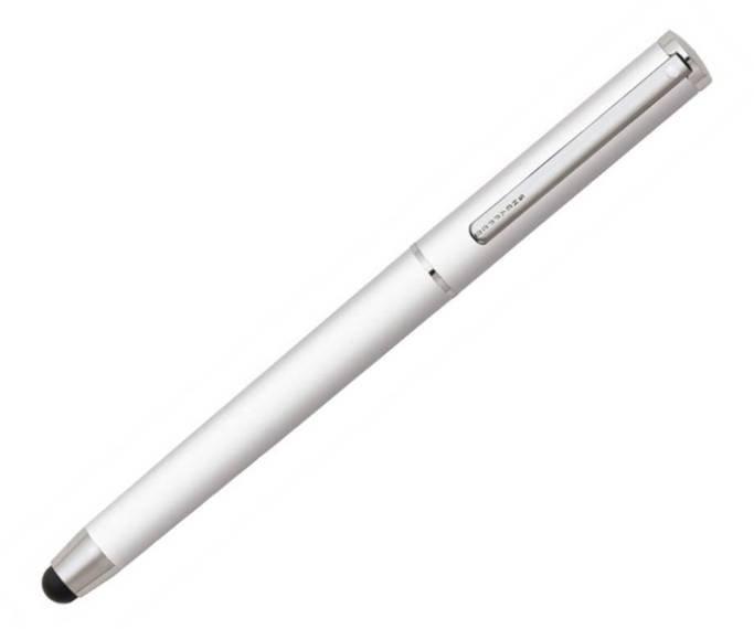 9828 Długopis Sheaffer Stylus, biały, wykończenia chromowane