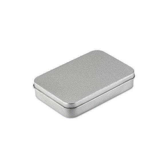 Karty do gry, metalowe pudełko