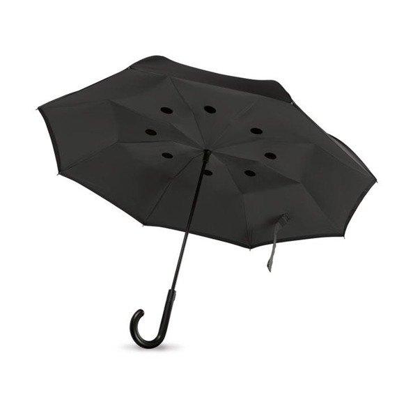 Odwrotnie otwierany parasol